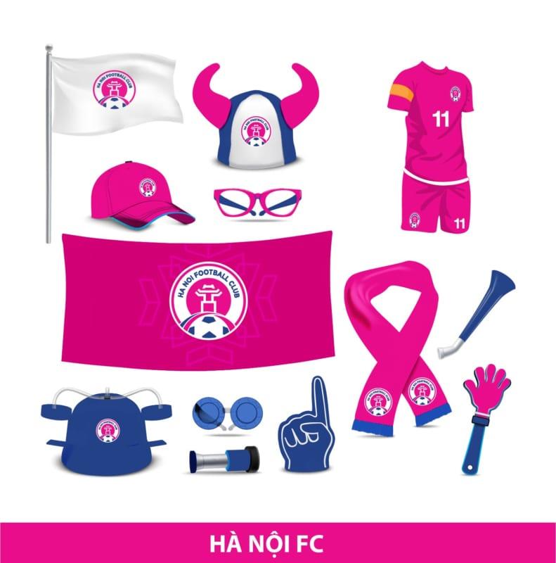Dự án thiết kế thương hiệu Hà Nội FC